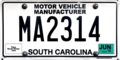 MA2314 South Carolina mfr plate.png