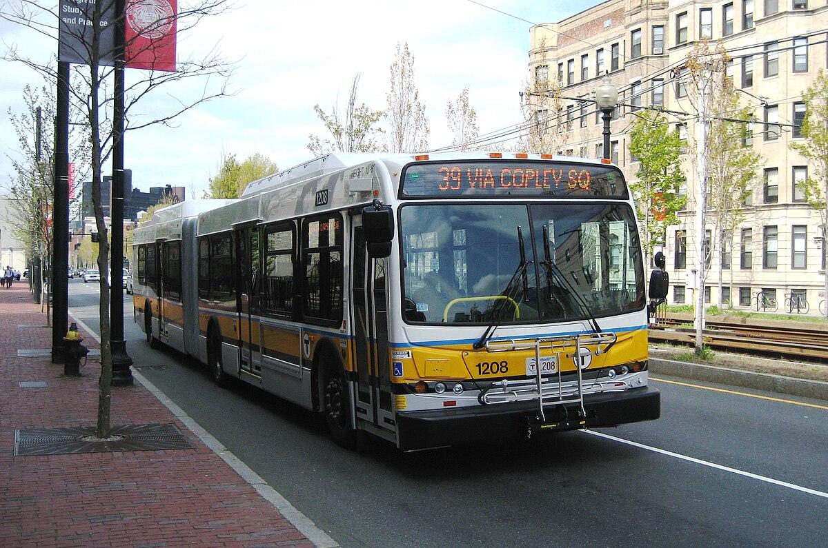 Datei Mbta Route 39 Bus Near Forsyth Street April 2010