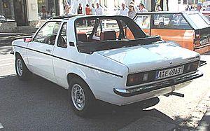 Karosserie Baur - An Opel Kadett C 1.2 Aero.