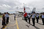 MINISTRO VALAKIVI ENTREGÓ MODERNA FLOTA DE 12 AERONAVES CANADIENSES TWIN OTTER DHC-6 SERIE 400 A LA FUERZA AÉREA DEL PERÚ (19403043610).jpg