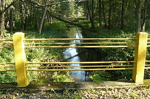 Czarna Woda (Kaczawa) - Czarna Woda River