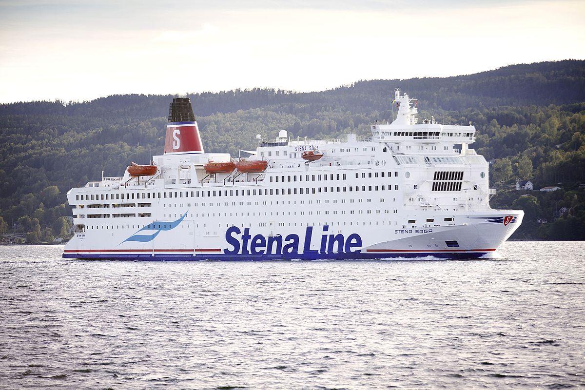 MS Stena Saga - Wikipedia