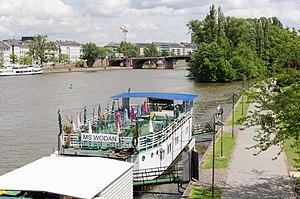 MS Wodan in Frankfurt at the river Main - restaurant ship - Germany - 02.jpg