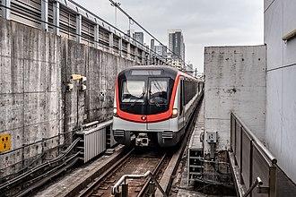 Line 4 (Shenzhen Metro) - MTRsz CSR Rolling Stock in Min Le 201901