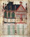 Maastricht, Sint-Servaas, Koningskapel, bouwtekening, ca1460, pen, tempera op perkament.jpg