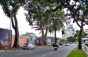 Macalister Road, George Town - Image: Macalister Road, George Town, Penang (3)