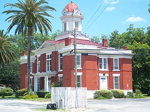 Altes Baker County Courthouse