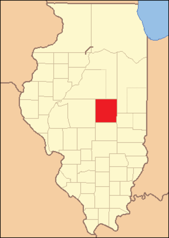 Macon County, Illinois - Image: Macon County Illinois 1829
