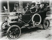 Madam Walker And Several Friends In Her Automobile C J Manufacturing Company Indianapolis