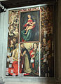 Madonna di g. bugiardini (copia) e cornice-dipinto di artista fiorentino del secondo cinquecento 01.JPG