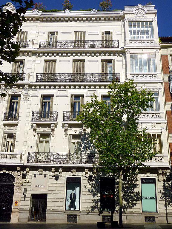 File madrid calle serrano 29 1 jpg wikimedia commons - Calle serrano 55 madrid ...