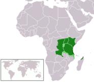 Maeneo penye wasemaji wa Kiswahili