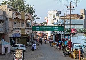 Maheshwar - A street in Maheshwar