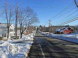 Blandford, Massachusetts - Main Street