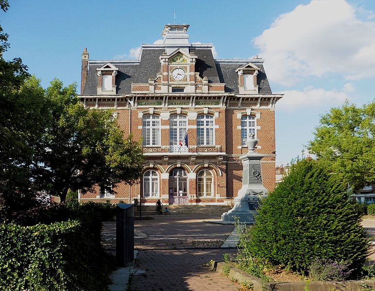 Mairie d'Hellemmes-Lille  Nord.- France.