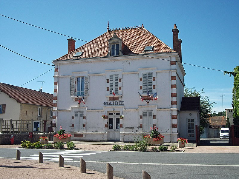 Town hall of Magnet, Allier [8874]