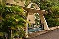 Maison moderniste, Villa Monplaisir, 2ème porche d'entrée. Martinique, Fort-de-France, quartier Bellevue. Classé Monument historique. Architecte Louis Caillat, 1932-.jpg