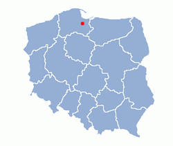 Malbork location map.png