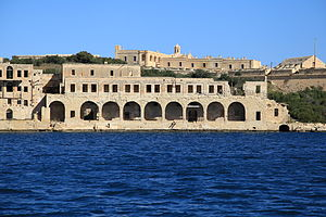Lazaretto - Lazzaretto of Manoel Island, Malta