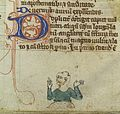 Man with two head wounds and jaw wound, 14th C Wellcome L0037331.jpg