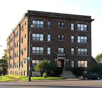 Manchester Apartments (Detroit, Michigan) - Image: Manchester Apartments Detroit MI