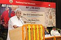 "Manoj Sinha addressing at the release of the book titled ""Art & Railways – A Bangalore Saga"", written by the Railway officers, Shri S. Mani and Ms. Lily Pandeya, in New Delhi. The Union Minister for Railways.jpg"