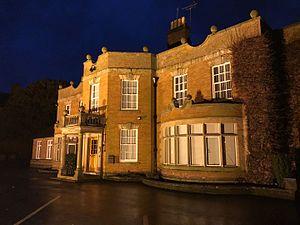 Alan Gardner, 1st Baron Gardner - Manor House, Uttoxeter, birthplace of Admiral Alan Gardner, 1st Baron Gardner