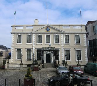Mansion House, Dublin - Mansion House in 2011