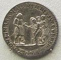 Mantova, francesco II gonzaga, testone, 1484-1505.jpg