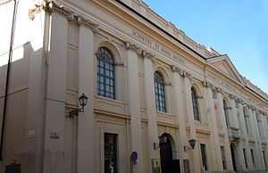 Teatro Bibiena - Façade of the theatre