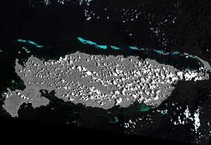 NASA-Landsat-Bild von Manus