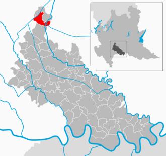 Merlino - Image: Map IT Lodi Merlino