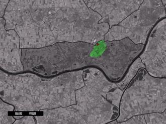 Est, Netherlands - Image: Map NL Neerijnen Est