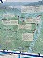 Map at the 'Szentendre Belváros' boat station. The Danube Bend excursion boat flights and major attractions on Budapest - Szentendre - Visegrád line. - Szentendre, Duna Promenade.JPG