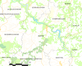 Map commune FR insee code 23004.png