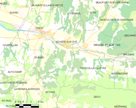 Map commune FR insee code 26011.png