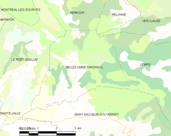 Map commune FR insee code 26046.png
