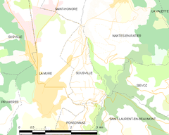 Map commune FR insee code 38497.png