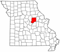 Map of Missouri highlighting Callaway County.png