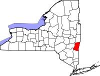 Map of New York highlighting Columbia County.svg