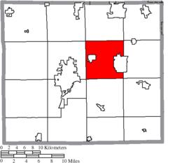 Green Township Ohio Map.Green Township Wayne County Ohio Wikipedia