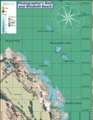 Map of the dive sites Photographers Reef Windmill Beach and Penguin Point.png