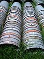 Maple buckets drying, close up (4571421523).jpg
