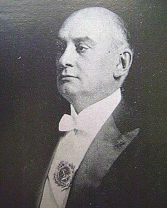 1922 Argentine general election - Image: Marcelo Torcuato de Alvear presidente