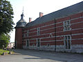 Marchienne-au-Pont - Château Bilquin-de Cartier - 17 - aile ouest et tour du logis.jpg
