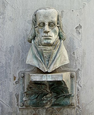 M. DuMont Schauberg - Relief of Marcus du Mont at DuMont