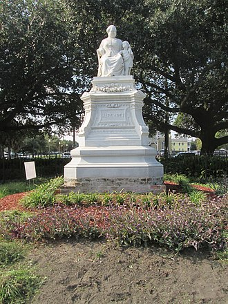 "Margaret Haughery - Statue commemorating ""Margaret"" in the Lower Garden District of New Orleans"