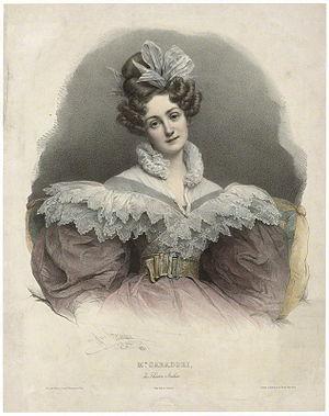 Maria Caterina Rosalbina Caradori-Allan - Image: Maria Caterina Rosalbina Caradori Allan Pierre Louis Grevedon