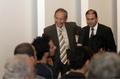 Mario Ojeda y Horacio Saavedra en la presentación de los nuevos Alcances y Límites de la Política Exterior de México.png