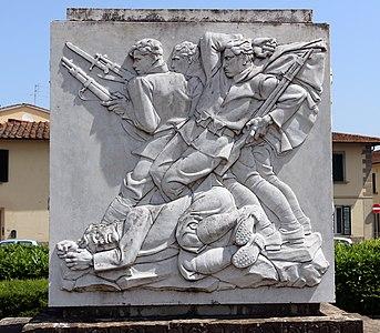 Mario moschi, monumento ai caduti di poggio a caiano, 1928-30, 04.jpg
